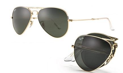 Ray Ban Aviator Folding Sunglasses for Men