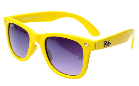 Ray ban Yellow Frame Sunglass