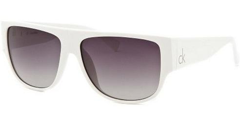 Rectangular White Sunglass
