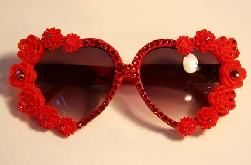Red Funky Sunglass
