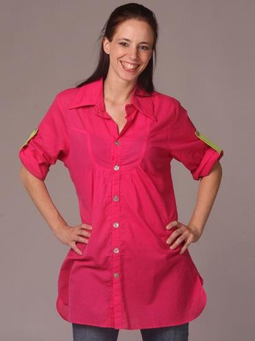Regular Look Cotton Shirt
