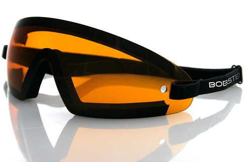 Rimless with Amber Lenses Sun Glasses