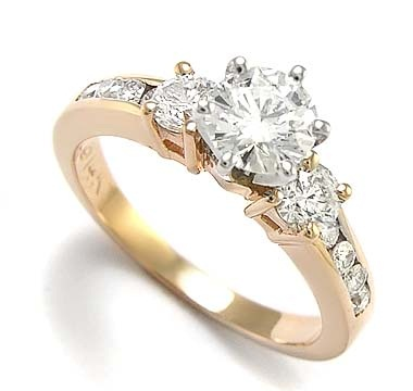 Rose Gold Wedding Rings for Women