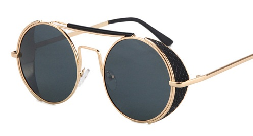 Round Frame Vintage Sunglasses