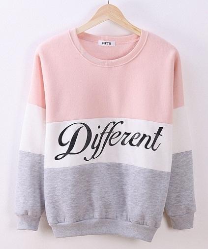 Round Neck Women's Sweatshirt