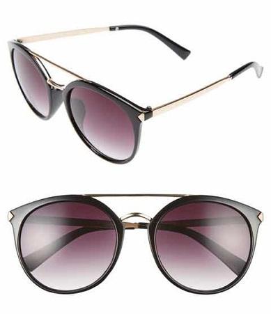 Round Shape Oversized Sunglasses for Women