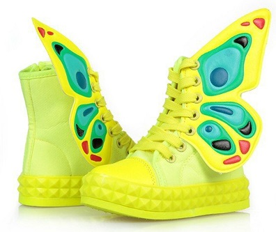Rubber Butterfly Shoe for Kids