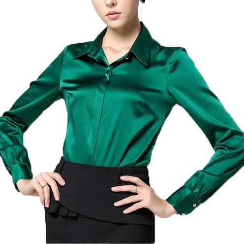 Satin Women's Shirt