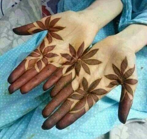 Shaded Palm Mehndi