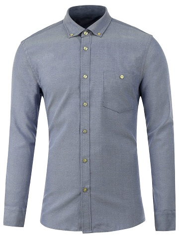 Shirt with buttoned Pocket