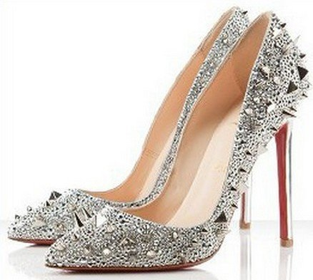 Silver Stilettoeswomen Shoes