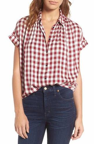 Simple Button Up Shirts for Women