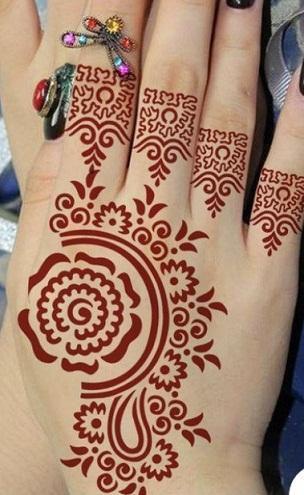 Simple Henna Stencils