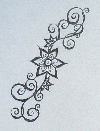photo regarding Printable Henna Designs identified as Greatest 10 newest Mehndi Stencils Programs Patterns At Existence