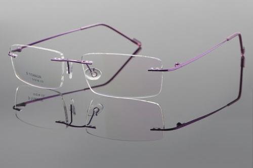 Smart Titanium Rimless Sunglasses for Men