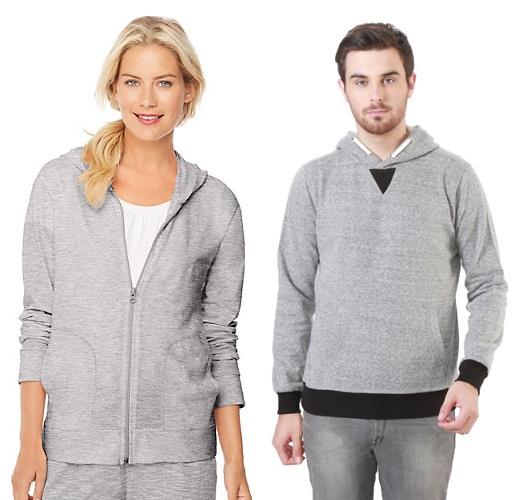 Soft and Stylish Grey Sweatshirts with Different Necks