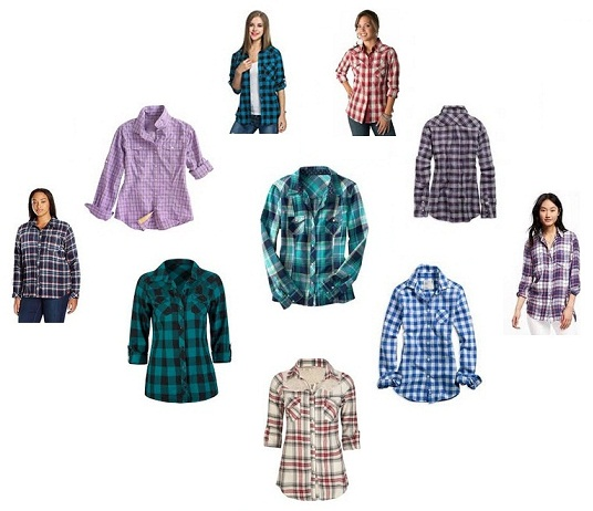 Softest Plaid Womens Shirts in Fashion 2017