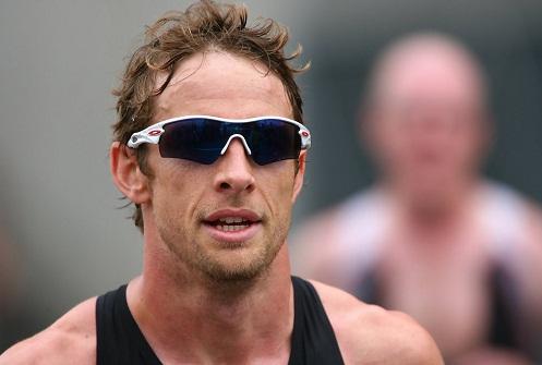 Sporty Shaded Wraparound Sunglasses