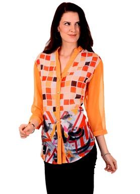 Square Designer Shirts for Girls