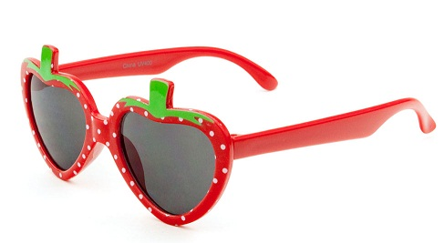 Strawberry Lens Kids Sunglasse
