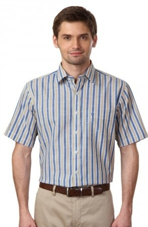 Stripped Half sleeve Shirt