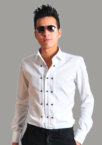 Stylish modern tuxedo