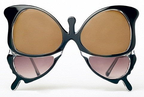 Sunglasses butterfly frame