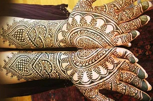 10 Latest Simple Mehndi Designs For Competition