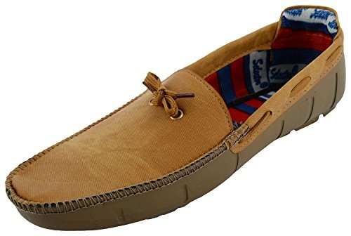 Tan Denim Casual Shoes for Men