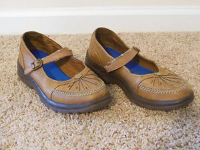 Tan Leather Therapeutic Shoes