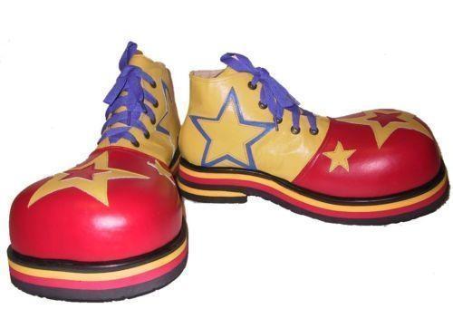 The Clown Men Big Shoes