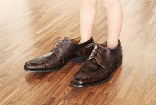 big shoes