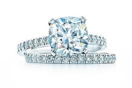 Tiffany Cushion cut Engagement Ring