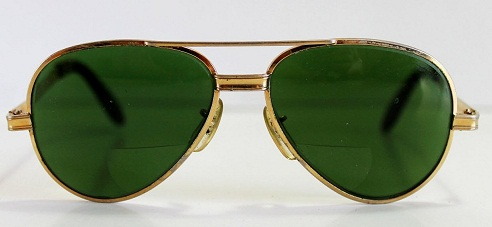 Tinted Green Sunglasses