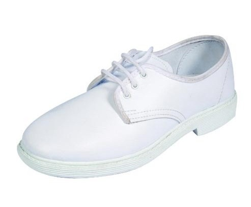 Traditional White Canvas Shoe