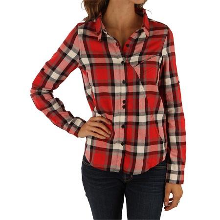 Tricolour plaid shirt