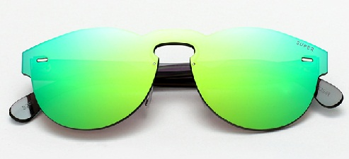 Tuttolente Green Sunglasses