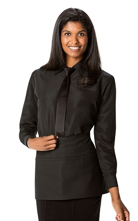 Tuxedo black dress shirt
