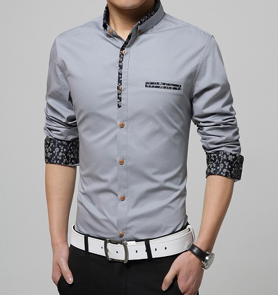 Unique Floral Slim fit shirt