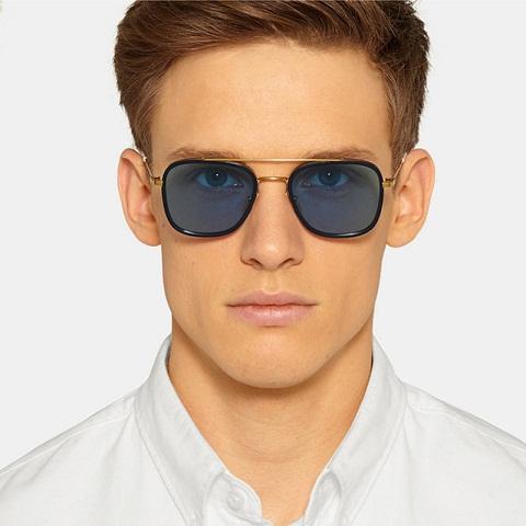 Vintage Dual Strip Retro Sunglasses
