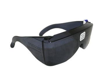 Visual Health Wears Wraparound Sunglasses
