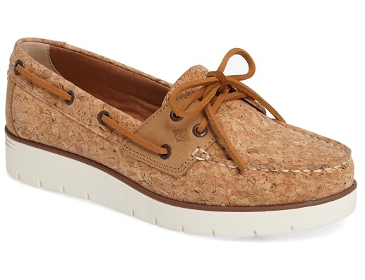Wedge Heel Boat Shoe for Women