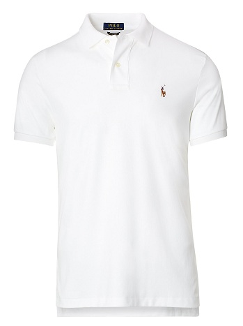 White Casual polo shirt