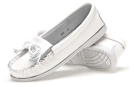 White Flat Shoes for Shoes