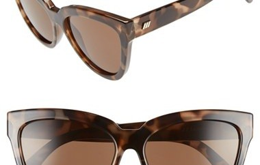 Wide Frame Mirrored Sunglasses for Women