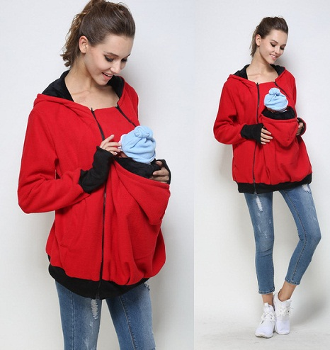 Women's Maternity Baby Carries Sweatshirt