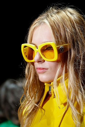 Yellow Fashion Sunglasses