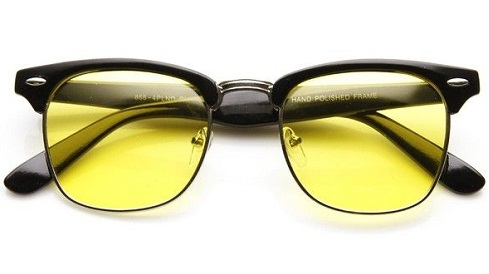 Yellow Lens Sunglass