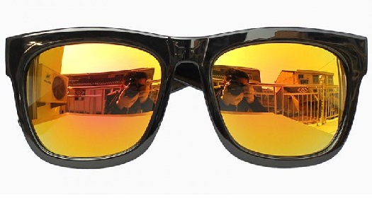 Yellow Mirror Sunglass