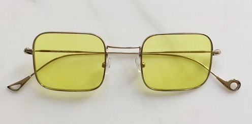 Yellow Retro Sunglass